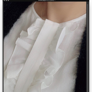 ドゥロワー(Drawer)のフリルシャツ 人気完売商品 (シャツ/ブラウス(長袖/七分))