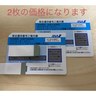 ANA(全日本空輸) - ANA 全日空 株主優待券 2枚