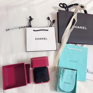Cartier - カルティエ リングケース ティファニー シャネル ショップ袋