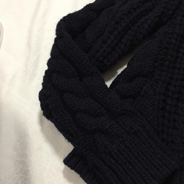 Ungrid(アングリッド)のUngridボリュームケーブルニット レディースのトップス(ニット/セーター)の商品写真