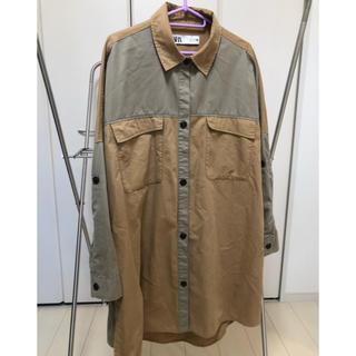 ZARA - ZARA ロングシャツ
