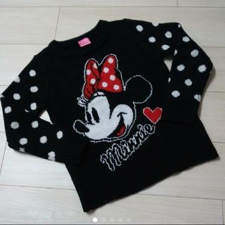 ディズニー(Disney)のディズニー ミニーマウス セーター size130(ニット)