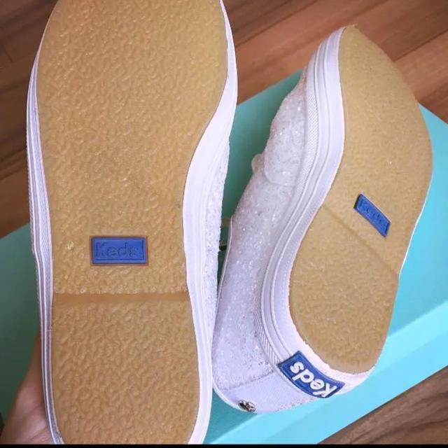 kate spade new york(ケイトスペードニューヨーク)のkate spade♡keds♡キラキラスニーカー レディースの靴/シューズ(スニーカー)の商品写真