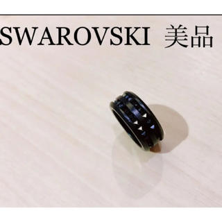 SWAROVSKI - 超美品 大人気デザイン スワロフスキー メンズリング 指輪 19号