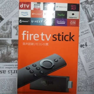 Amazon Fire TV Stick アマゾンファイヤースティック第2世(映像用ケーブル)