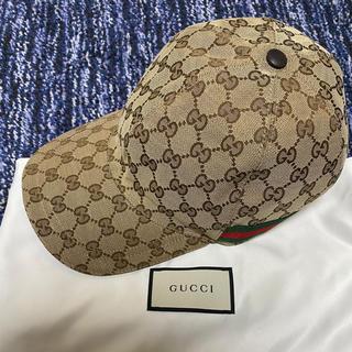 グッチ(Gucci)のGUCCI オリジナルGGキャンバス ベースボールキャップ(キャップ)