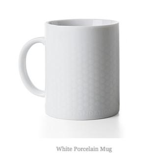 ルイヴィトン(LOUIS VUITTON)の【新品】FONDATION LOUIS VUITTON マグカップ ホワイト(グラス/カップ)