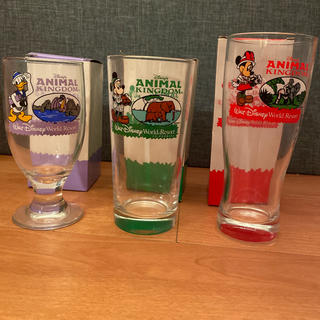 Disney - オリジナル ディズニー グラス マクドナルド アニマルキングダム 新品未使用