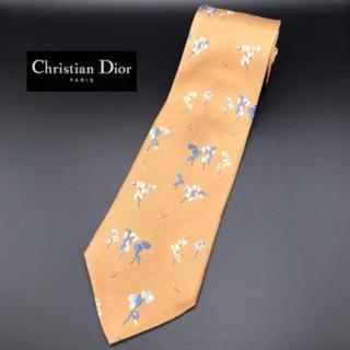 クリスチャンディオール(Christian Dior)のクリスチャン ディオール シルクネクタイ☆花柄 トンボ(ネクタイ)