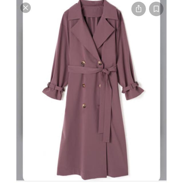 GRL(グレイル)のGRL バックプリーツトレンチコート レディースのジャケット/アウター(トレンチコート)の商品写真