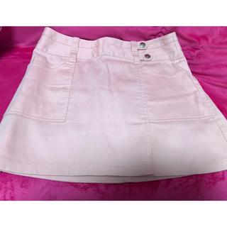 バービー(Barbie)のBarbie デニム生地スカート(ミニスカート)