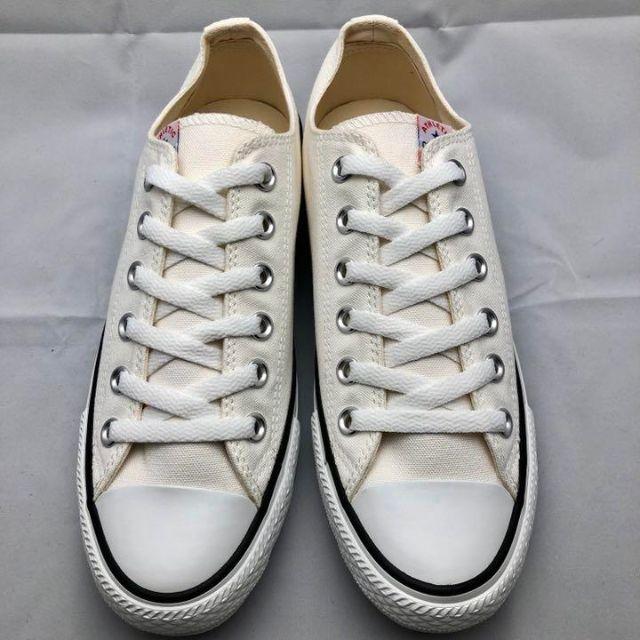 CONVERSE(コンバース)のCONVERSE コンバース ローカット スニーカー ホワイト 22.5 レディースの靴/シューズ(スニーカー)の商品写真