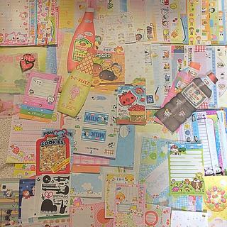 大量バラメモ ✴︎ おすそ分けセット(230枚以上)+オマケ付き(ノート/メモ帳/ふせん)