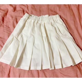 スピンズ(SPINNS)のプリーツスカート(ひざ丈スカート)