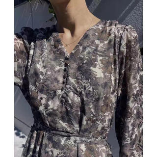 Ameri VINTAGE - AMERI VINTAGE MONA DESIGN NECK DRESS