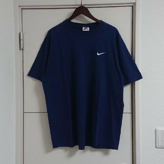 NIKE - NIKE ナイキ Tシャツ 90s古着 USA製 刺繍スウォッシュ