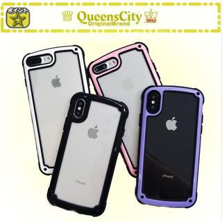 iPhoneケース クリアフレーム iPhoneカバー アイフォンカバー 全3色