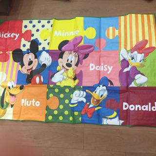 ディズニー(Disney)のECCジュニア ディズニー ミッキー レジャーシート(その他)