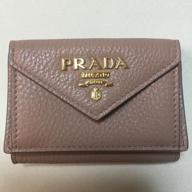 PRADA(プラダ)のプラダ 財布 プラダ ミニウォレット レディースのファッション小物(財布)の商品写真