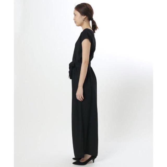 IENA SLOBE(イエナスローブ)のSLOBE IENA イエナスローブ オールインワン ブラック レディースのパンツ(サロペット/オーバーオール)の商品写真
