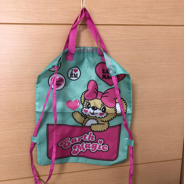 EARTHMAGIC(アースマジック)のアースマジック  リュック  袋 バッグ 新品 未使用 キッズ/ベビー/マタニティのこども用バッグ(リュックサック)の商品写真