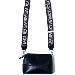 MURUA - AMAIL   Genderless snazzy bag   ブラック