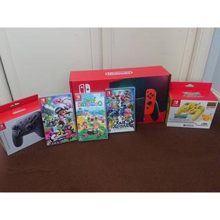 ニンテンドースイッチ(Nintendo Switch)の任天堂スイッチお得セット かな様専用(家庭用ゲーム機本体)