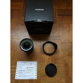 フジフイルム(富士フイルム)のFujifilm XF10-24mm F4 R OIS 美品 フィルター付(レンズ(ズーム))
