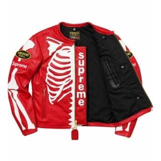 シュプリーム(Supreme)のSupreme 17AW Vanson Leather Bones Jacket(レザージャケット)