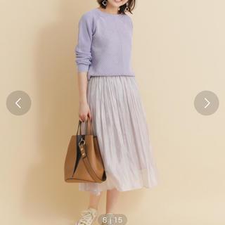 アーバンリサーチ(URBAN RESEARCH)のプリーツスカート(ひざ丈スカート)