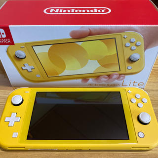 ニンテンドースイッチ(Nintendo Switch)のNintendo Switch Lite 本体 イエロー(家庭用ゲーム機本体)