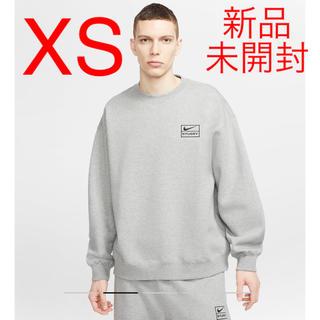 ナイキ(NIKE)のステューシー x ナイキ コラボ フリース クルーネック スウェットシャツ(スウェット)