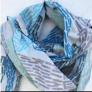 ミナペルホネン(mina perhonen)のmina perhonen ミナ ペルホネン  bottle スカーフ(バンダナ/スカーフ)