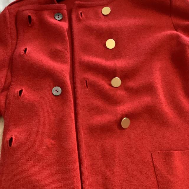 Ballsey(ボールジィ)の美品 トゥモローランド  ボールジィ ニットジャケット カーディガン レディースのジャケット/アウター(ノーカラージャケット)の商品写真
