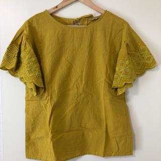 SM2 - SM2 刺繍袖ブラウス