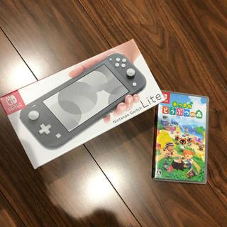 Nintendo Switch - Nintendo Switch lite & どうぶつの森 ケースset