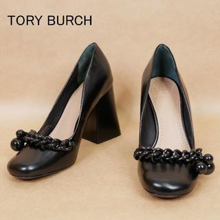 Tory Burch - 良品 TORY BURCH トリーバーチ 6M 黒 ハイヒール