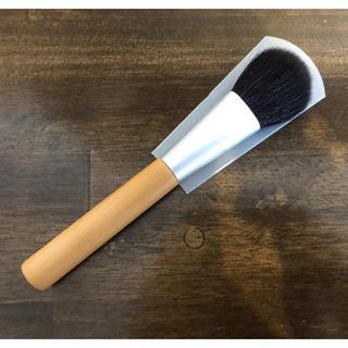 ムジルシリョウヒン(MUJI (無印良品))の無印良品 細光峰ヤギ毛 チークブラシ(チーク/フェイスブラシ)