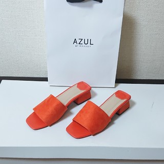 AZUL by moussy - スエード ミュール