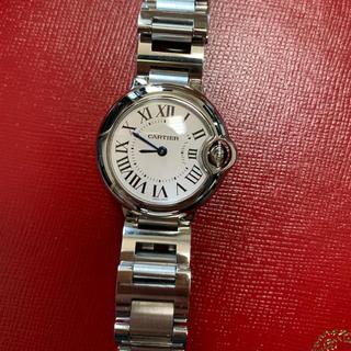Cartier - 時計 カルティエ バロンブルーSM 箱 保証有り 美品