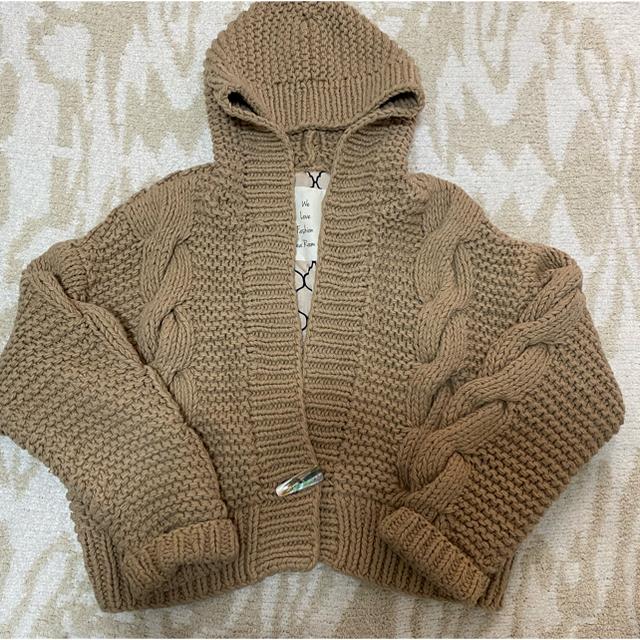 SeaRoomlynn(シールームリン)のPPP様専用 𓇼searoomlynn𓇼shellボタンブラウン レディースのジャケット/アウター(ノーカラージャケット)の商品写真
