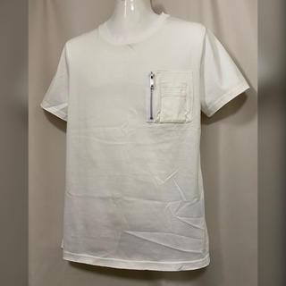 クリスチャンダダ(CHRISTIAN DADA)のCHRISTIAN DADA 胸ポケット 二層カットオフ Tシャツ 46 M(Tシャツ/カットソー(半袖/袖なし))
