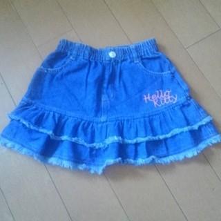 サンリオ(サンリオ)の☆キティ☆ミニスカート 110(スカート)