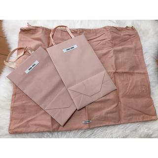 miumiu - ミュウミュウ ショップ袋