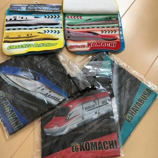 JR東日本新幹線バージョン3枚セット巾着 ミニタオル3枚組セット×2(その他)