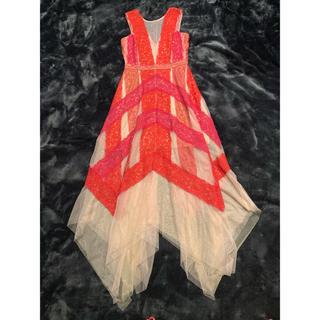 BCBGMAXAZRIA - GCBG ドレス レース ロングドレス