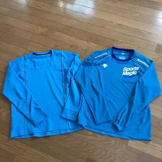 デサント(DESCENTE)のデサントシャツ2枚セット L(陸上競技)