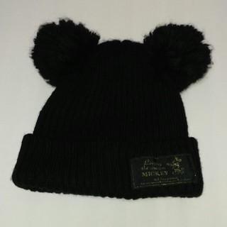 Disney - 新品❗ミッキー ボンボン付き ニット帽 ディズニー