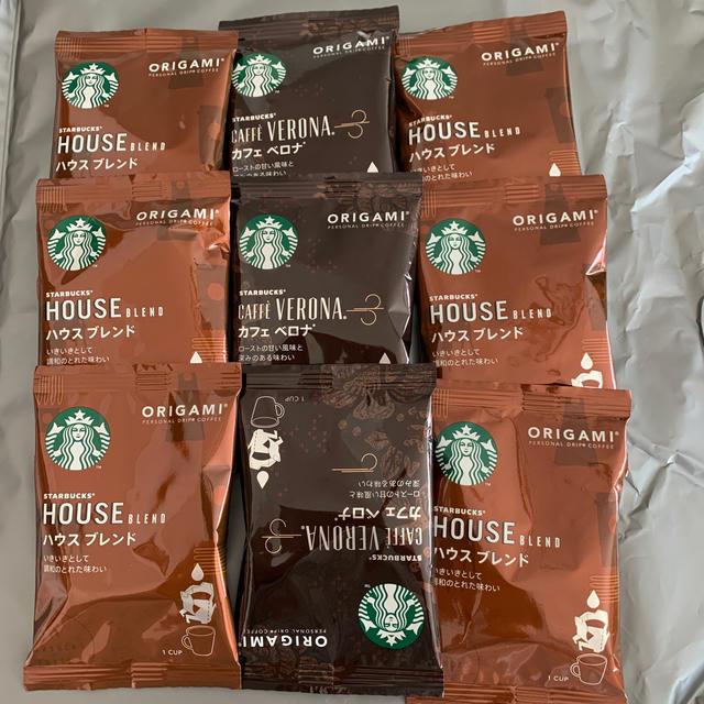 Starbucks Coffee(スターバックスコーヒー)のスタバ ドリップコーヒー 9袋 食品/飲料/酒の飲料(コーヒー)の商品写真
