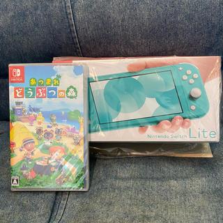Nintendo Switch - セット!!ニンテンドースイッチライト どうぶつの森ソフト switch lite